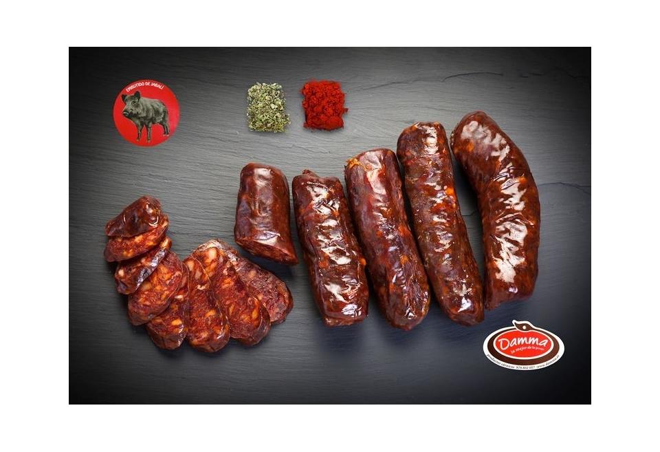 Chorizo de jabalí
