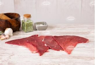 Filetes de carne de ternera