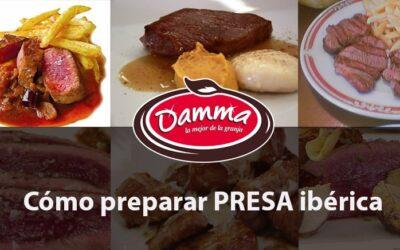 Como preparar Presa iberica, receta