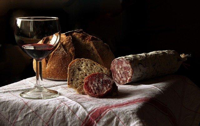 maridaje vino tinto con carnes